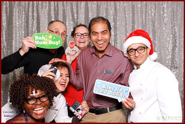 Calgary Winter Club Staff Holiday Party 2017