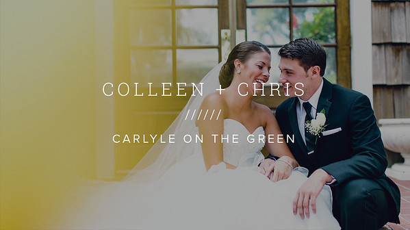 COLLEEN + CHRIS ////// CARLYLE ON THE GREEN