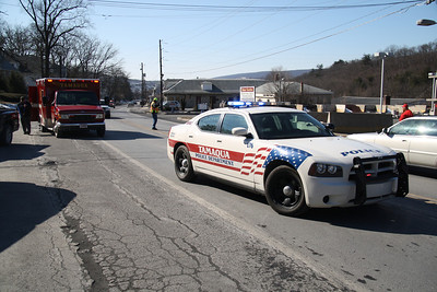 3 Vehicle Accident, SR209, by Jamesway Plaza, Tamaqua (2-13-2012)