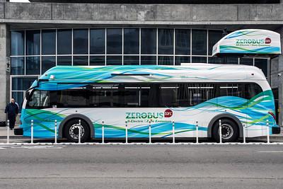 #670/671 TARC All-Electric ZeroBus Unveiled (+VIDEO) 12/22/14