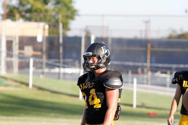 El Dorado vs Sonora Scrimmage at La Habra High School in La Habra, California on August 23, 2013.