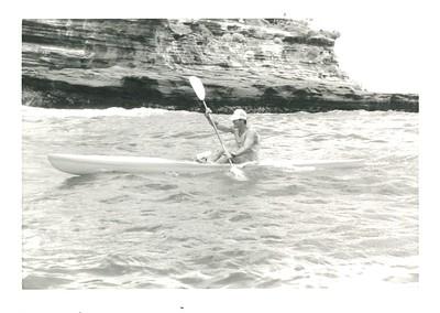 11th Annual Kanaka Ikaika Molokai to Oahu Kayak Race 5-22-1988