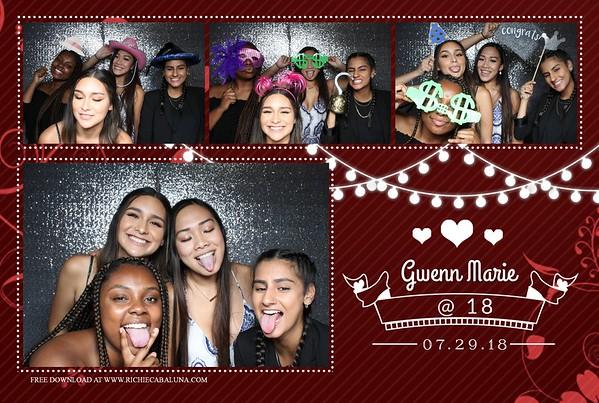 Gwenn's 18th Birthday