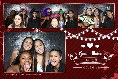 Gwenn's 18th Birthday