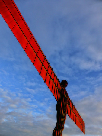 017 - Quayside And Angel Of The North, Tyne & Wear - UK 2013.