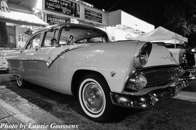 Old Car Night at Biff Burger
