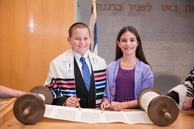Shannon & Tyler's B'nai Mitzvah