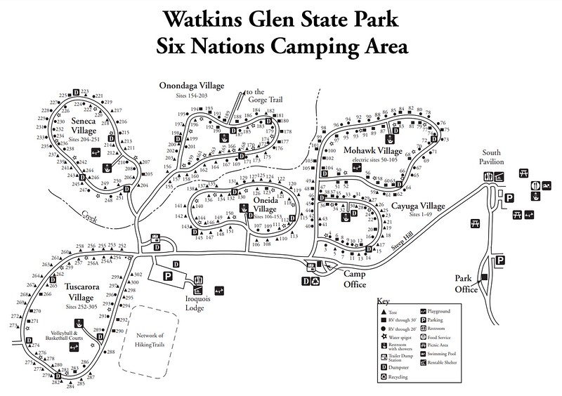 Watkins Glen State Park (Six Nations Campground)