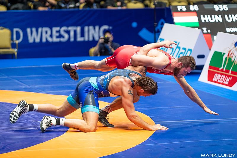 Champ. Round 2: James Patrick Downey Iii (United States) over Zbigniew Mateusz Baranowski (Poland)  •  Dec 8-2 - 2019 World Championships