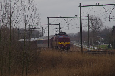 EETC 1254 skitrein Culemborg 1 februari 2015