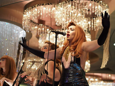Clairy Browne & the Bangin' Rackettes in Las Vegas at the Cosmopolitan's Chandelier Bar on Saturday the 6th of April 2013