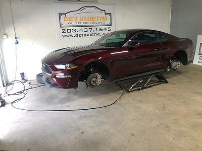 Mustang GT- Opti - Coat Pro Ceramic Coating and Glassparency Windshield Kit