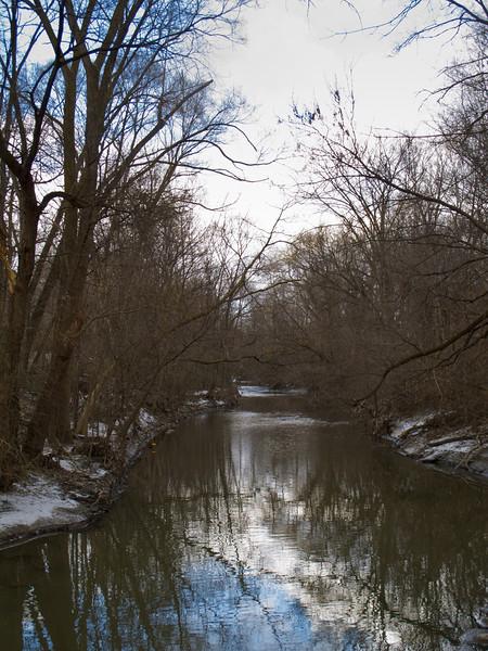 Reflected Blue, Mimico Creek