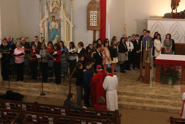 2014 Confirmation Class at Sts. Joseph and Paul
