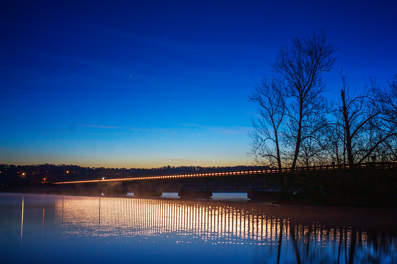 12.23.19 - HWY12 Bridge this AM.