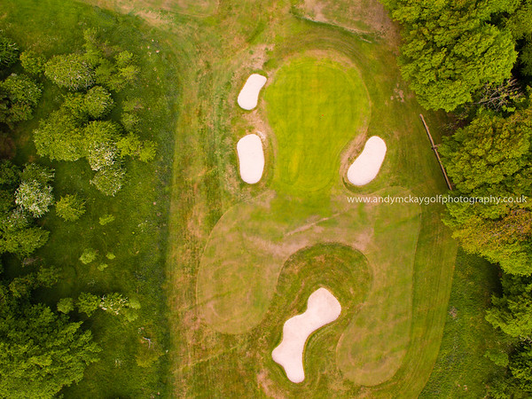 Golf Course Drone Photography - the view from above