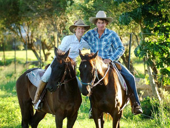 Trans Australia crossing on horseback