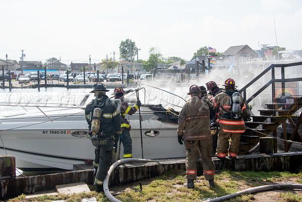 Freeport Boat Fire 07/17/2020