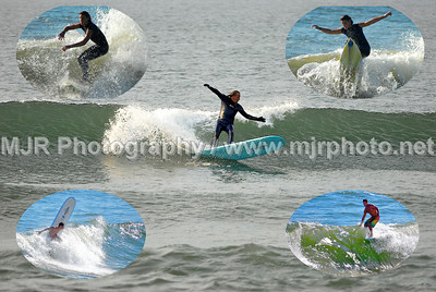 Surfing, Gilgo Beach, NY,  (5-12-07)