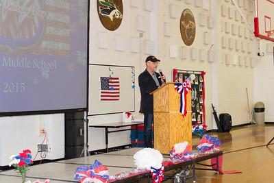 Socorro Middle Veterans Day