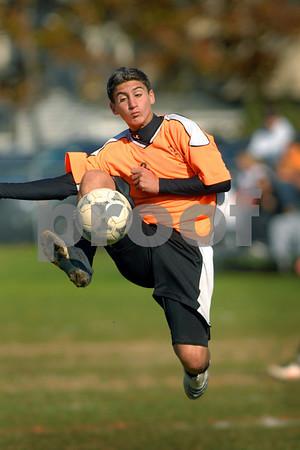 2008-10-26 Carey HS Boys Soccer vs Valley Stream Central High School, 4-3