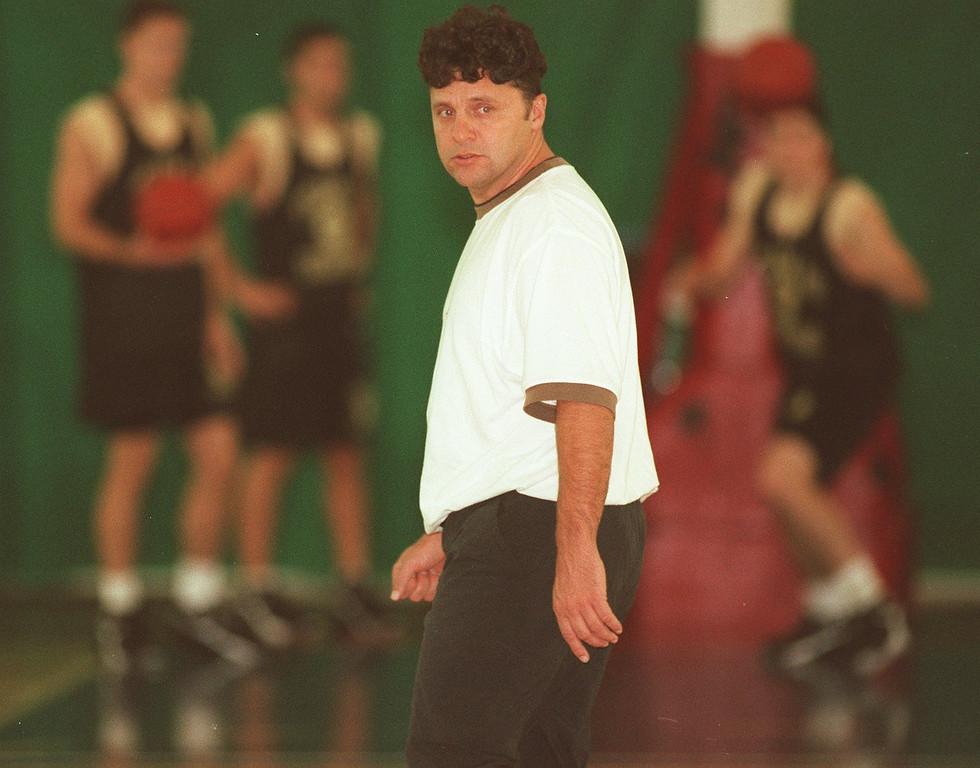 . O.U. mens basketball head coach Greg Kampe.
