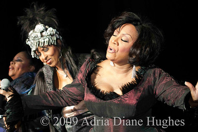 File Images © 2009 Nona Hendryx  performing with Labelle in Atlantic City, New Jersey