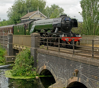 THE FLYING SCOTSMAN IN LINCOLN