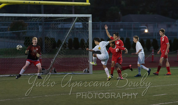 171017 NBHS Boys Soccer vs Coquille