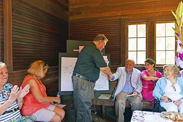 Oak Grove Cemetery Fendig Donation 08-14-15