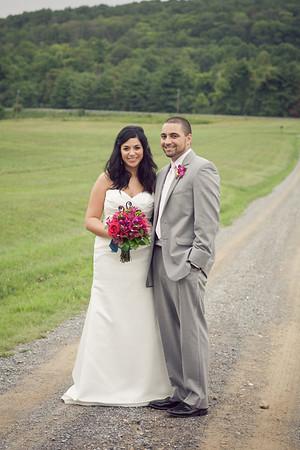 Briana + Shawn: Bluemont, Virginia: 8.14.10