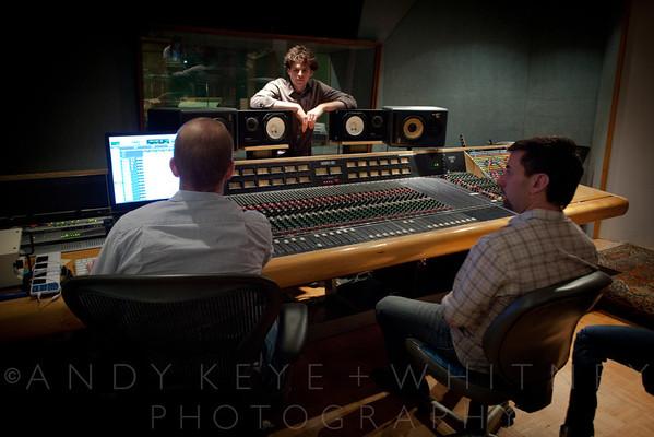 In The Recording Studio - BP - 12 Feb 11