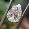 2.01ct Antique Pear Shape Diamond GIA G VS1 32