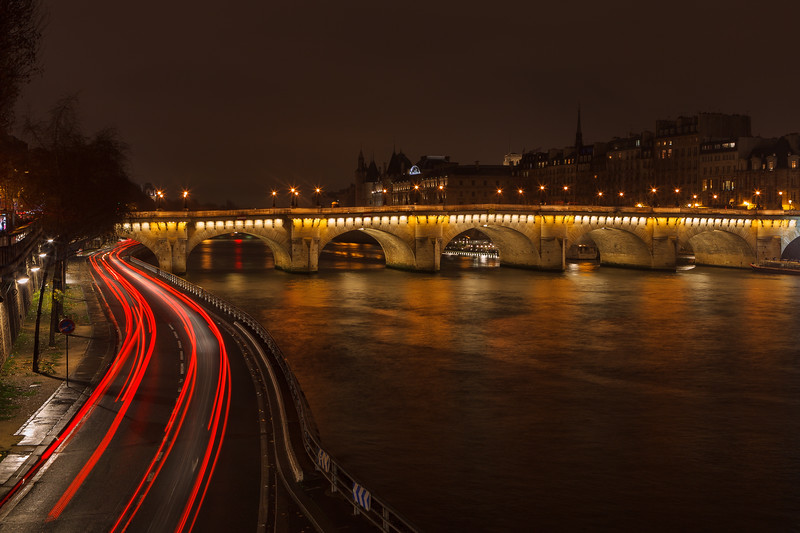Pont Neuf, Paris, France.