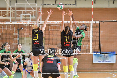 «Limmi School Volley Perugia - Canovi Coperture Sassuolo» 13ª Giornata