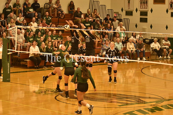 08-30-18 Sports Evergreen at Tinora Volleyball