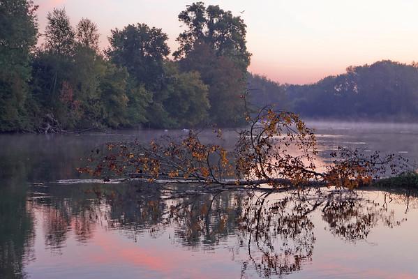 Le Loiret matin d'automne