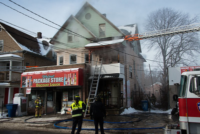 Vacant Structure Fire - 399 Walnut St, Waterbury, CT - 1/10/17