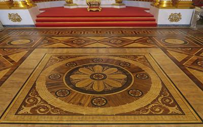 Saint Petersburg Hermatage floors