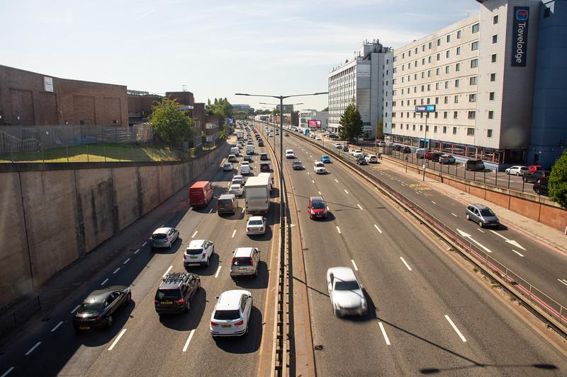 Traffic on the North Circular