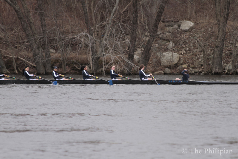 Girls Crew vs. Simsbury High and Essex Rowing