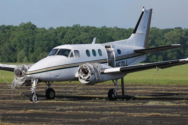 "1966 Beechcraft 65-A90 ""Queen Air"", Tullahoma, 07May19"