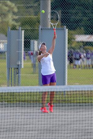West Bladen 17 East Columbus girls tennis