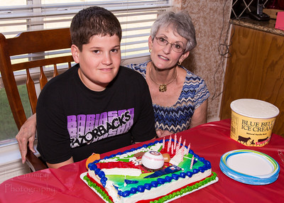 20120819 - Jake's 13th b'Day Party