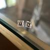 1.47ctw Carre Cut Diamond Pair GIA F VS2 16