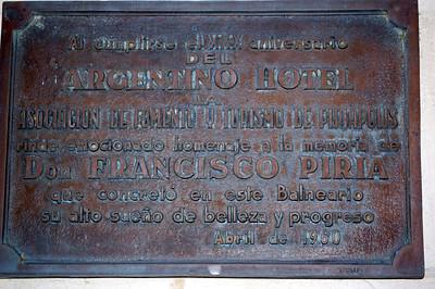 Hotel Argentino, Piriapolis, Uruguay