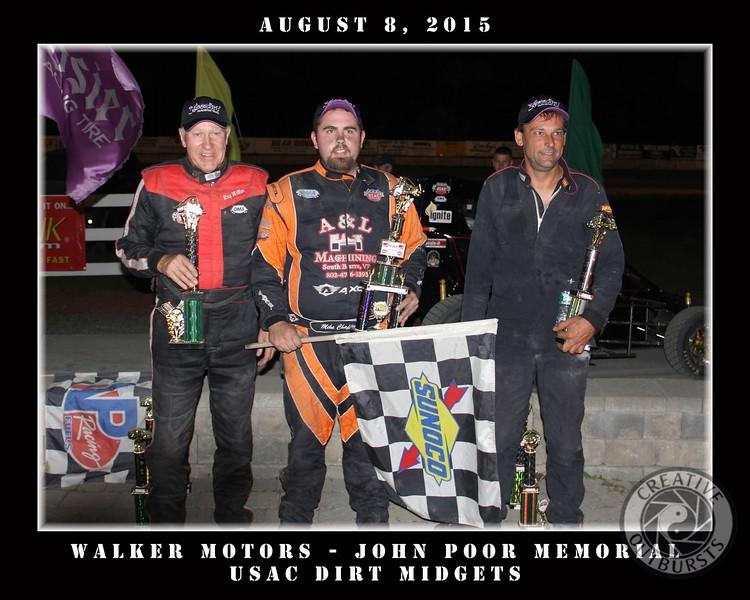 8-8 Walker Motors - John Poor Memorial