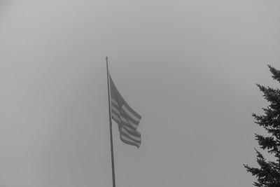 2020 09 25: Foggy, Neighborhood Walk, Lake Superior
