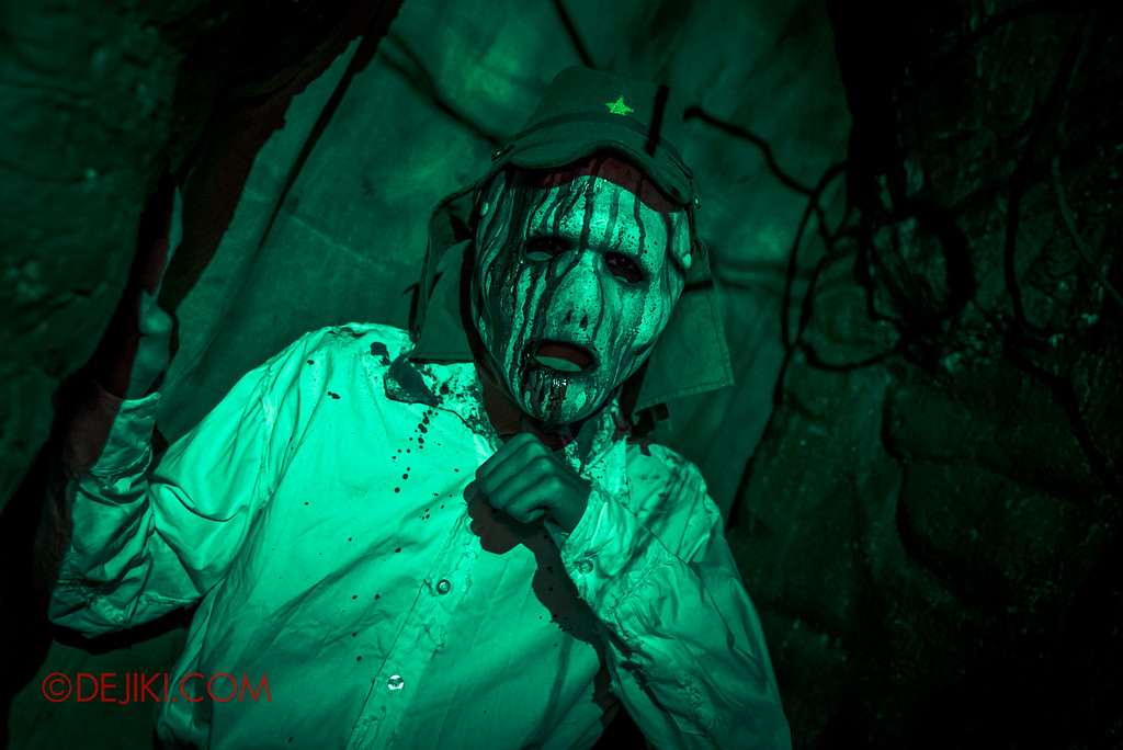 Halloween Horror Nights 6 - Old Changi Hospital / Soldier ghost