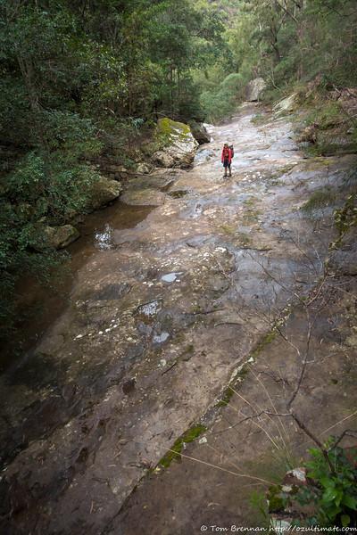 Slabby creek